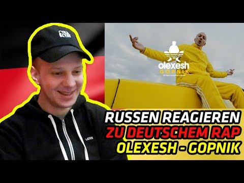 RUSSIANS REACT TO GERMAN RAP | Olexesh - GOPNIK | REACTION