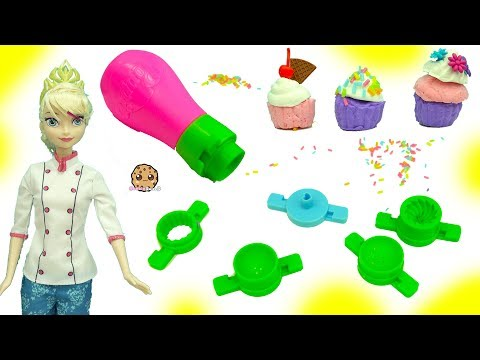 Generate Poppit Air Dry Clay Dough Mini Cupcake Maker Set With Frozen Queen Elsa Doll Screenshots