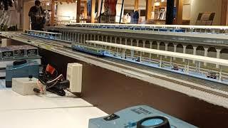 鉄コレの伊豆急行100系をポポンデッタ横浜店のレンタルレイアウトで試運転をしてきました。