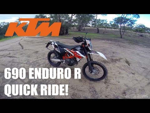 KTM 690 Enduro R - Quick Ride!