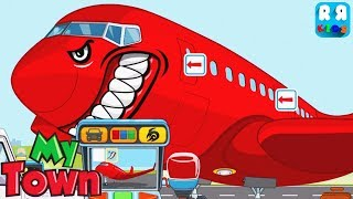 My Town : Airport - Coloring your Airplane