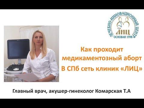 Медикаментозный аборт СПБ в клинике ЛИЦ