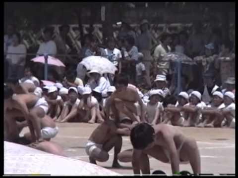 古前小学校春季大運動会1990