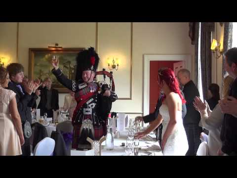 Karen and Andy at Melville Castle -  Highlights