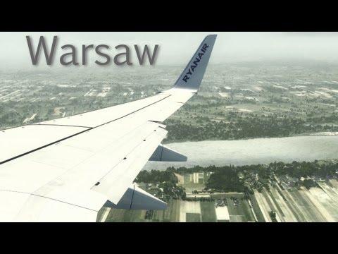 FSX Realism 2013! Boeing 737-800 landing in Warsaw! [HD]