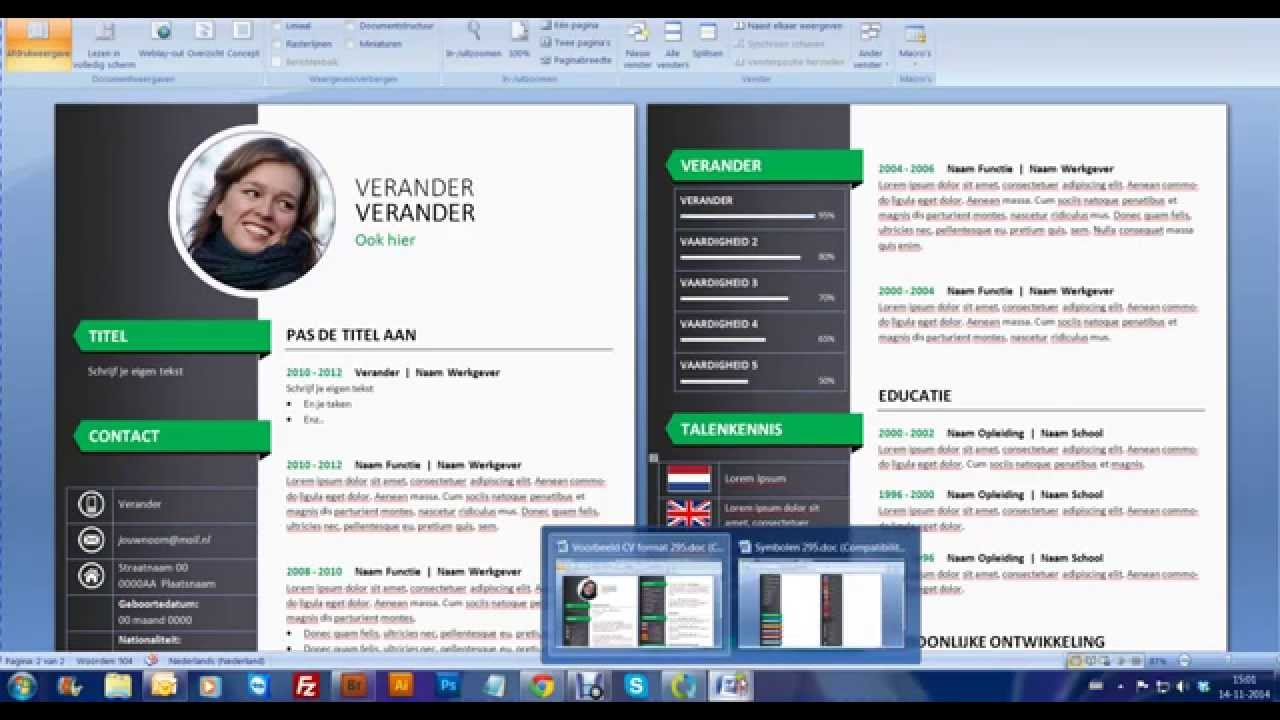 Cv Format 2014 Free Download Letter Writing Guide Website