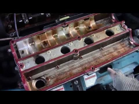 How to Remove Install Valve Cover on Ford Zetec Engine