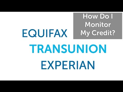 How Do I Monitor My Credit?