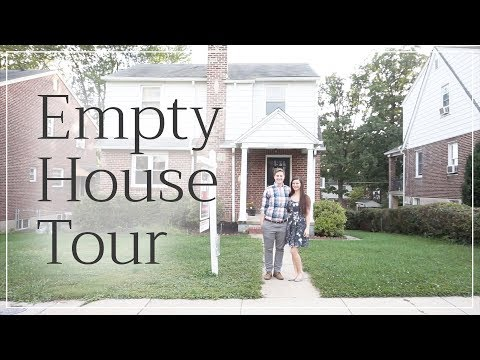 Empty House Tour • Our First House!