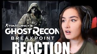 Ghost Recon: Breakpoint Official Reveal Trailer Reaction
