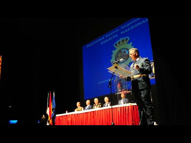 Poema a la Policía de un Guardia Civil en los actos del patrón del CNP