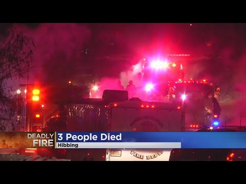 1 Child, 2 Adults Killed In Hibbing Fire