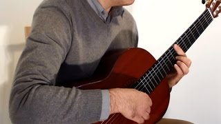 Morning Mood - Edvard Grieg - Solo Classical Guitar Cover