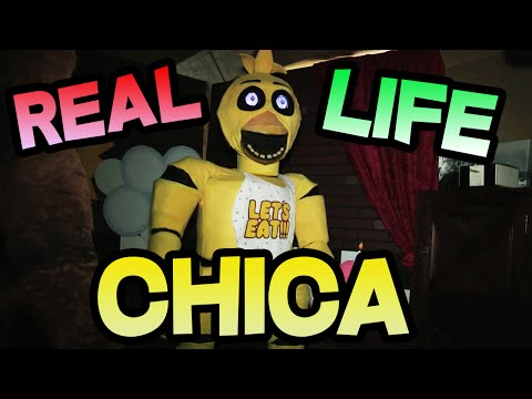 REAL LIFE CHICA || FNAF CHICA Animatronic In REAL LIFE