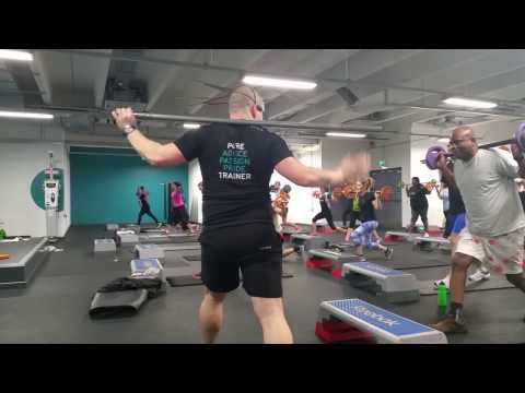 Work out for full body fat burn at pure gym