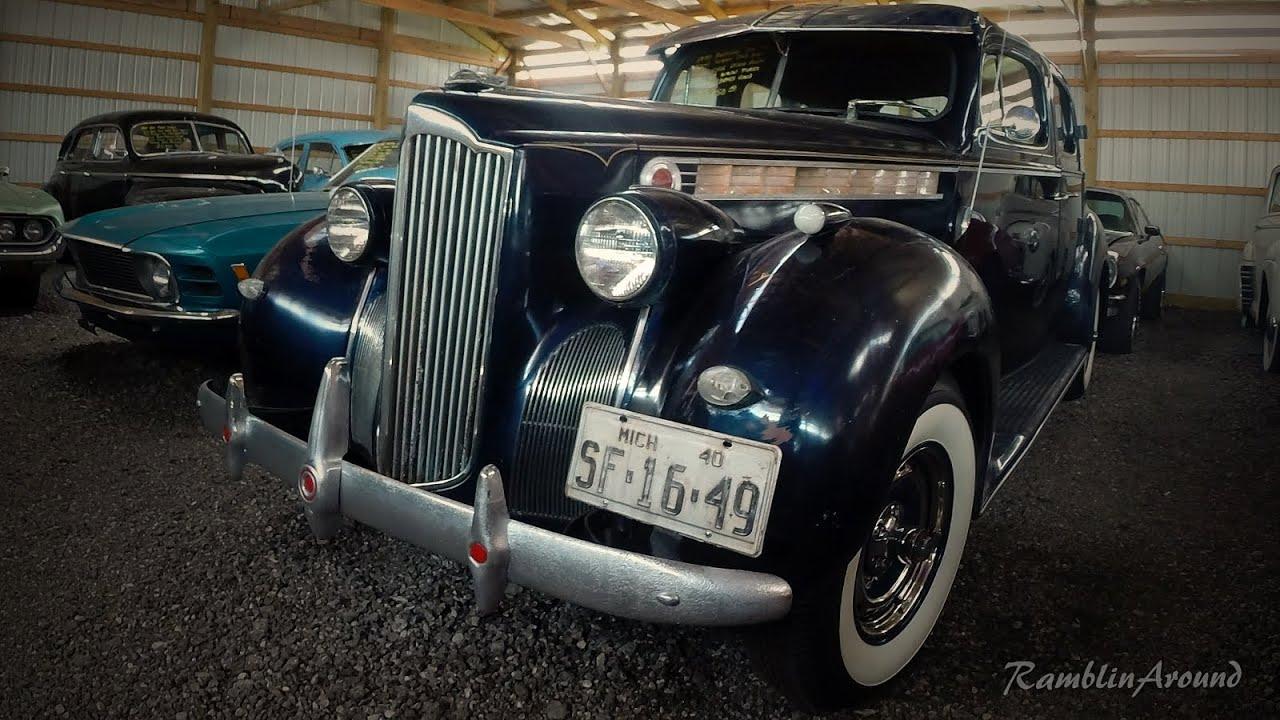 Rare Packard Sedan At Country Classic Cars Youtube