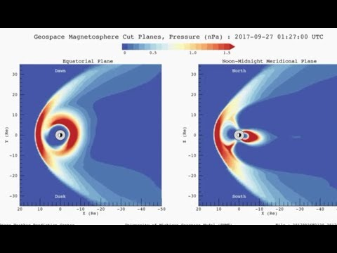Geomagnetic Storm, Mexico Quake Review | S0 News Sept.27.2017