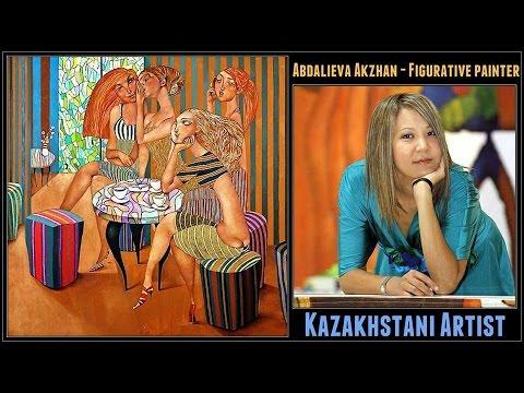 Abdalieva Akzhan Kazakhstan - Figurative painter