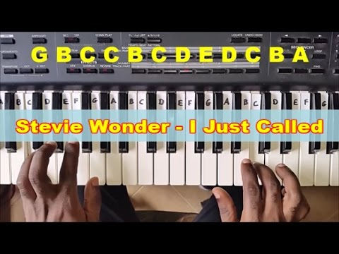 How To Play I Just Called To Say I Love You Easy Piano Tutorial