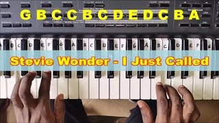 How To Play I Just Called To Say I Love You - Easy Piano Tutorial - Stevie Wonder