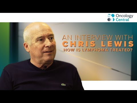 How is lymphoma treated? Chris Lewis's story