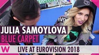 Julia Samoylova (Russia) @ Eurovision 2018 Red / Blue Carpet Opening Ceremony