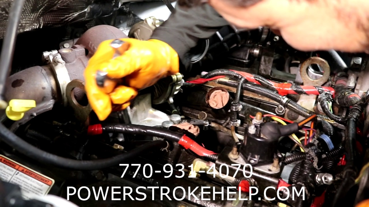 7 3l powerstroke mechanical fuel pump replacement 1 of 2 in a series [ 1280 x 720 Pixel ]