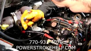 7 3L POWERSTROKE MECHANICAL FUEL PUMP REPLACEMENT 1 OF 2 in a series -  YouTube YouTube