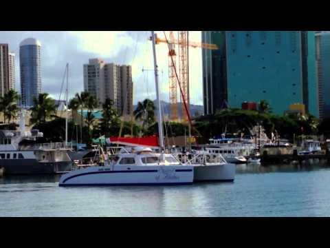 Kewalo Basin Harbor, Honolulu, Hawaii
