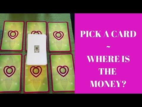 PICK A CARD - WHERE IS THE MONEY?🤑🤑Reading with Amira💸💸
