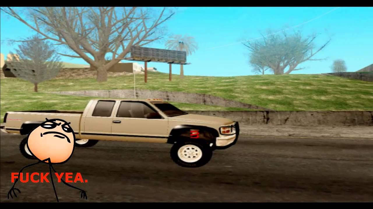 GMC Sierra 1998 Off Road 4x4|GTA San Andreas - YouTube