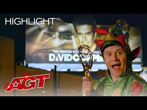 Piff The Magic Dragon Attempts David Copperfield's Legendary Feat - America's Got Talent 2020