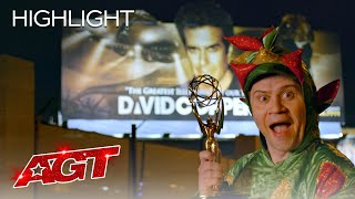 Piff the Magic Dragon Attempts David Copperfield's Legendary Feat - America's Got Talent 2020