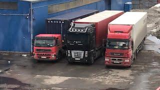 Говорим о контейнеровозном прицепе )