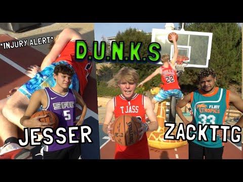 *INJURY ALERT* GAME OF D.U.N.K.S vs. JESSER & ZACKTTG
