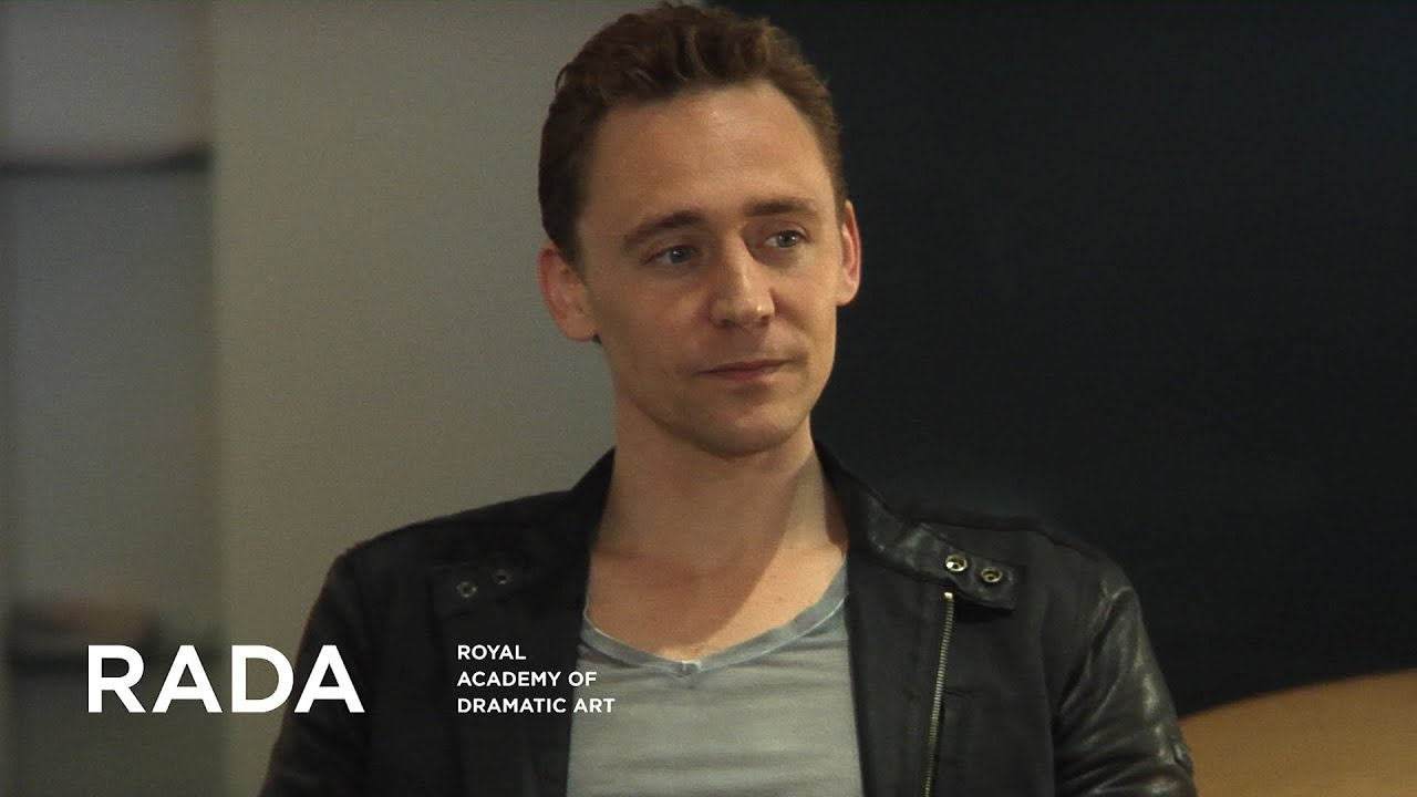 RADA: A Word With     Tom Hiddleston - PART 2 (interview)
