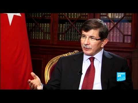 Turkish Foreign Minister Ahmet Davutoglu on Syria