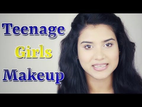 3 Makeup Tips for Teenage Girls / Teenagers (Hindi)