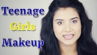 3 Makeup Tips for Teenage Girls / Teenagers (Hindi)