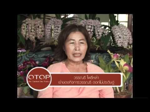 2 OTOP ผลิตภัณฑ์ดอกไม้ประดิษฐ์จากผ้าใยบัว จ กาฬสินธุ์