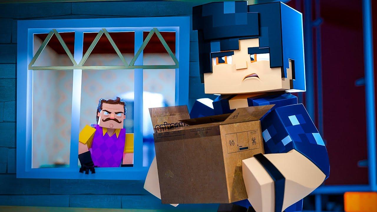 Minecraft: Hello Neighbor - O SEGREDO DA VIZINHANÇA! #01 *NOVA SÉRIE!*