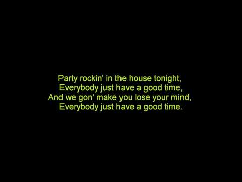 LMFAO - Party Rock Anthem (feat. Lauren Bennet & GoonRock) (ON SCREEN LYRICS)