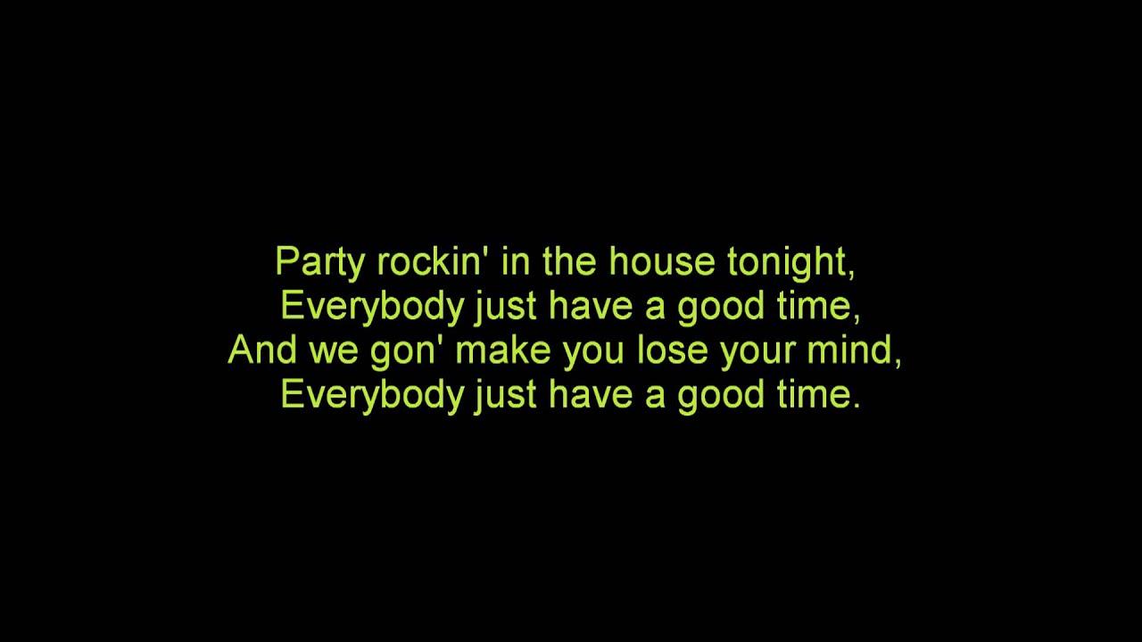 Party rockers lyrics