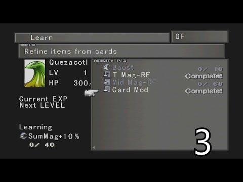 Final Fantasy VIII Walkthrough Part 3 - Learning Important Abilities HD