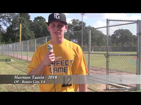 Harrison Tauzin - OF - Bossier City, LA - 2018
