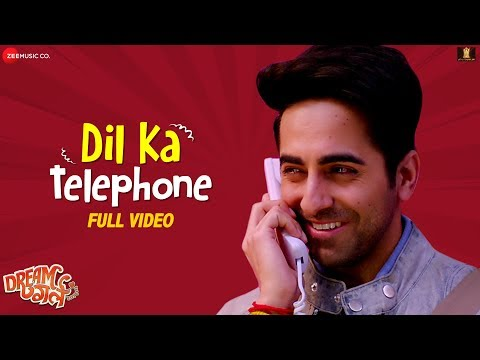 Dil Ka Telephone - Full Video   Dream Girl   Ayushmann Khurrana   Jonita Gandhi & Nakash Aziz
