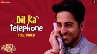 Gambar cover Dil Ka Telephone - Full Video | Dream Girl | Ayushmann Khurrana | Jonita Gandhi & Nakash Aziz