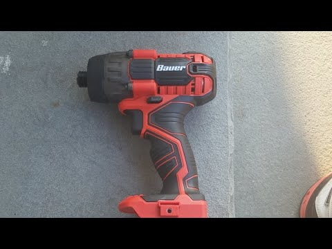 Bauer Impact Driver , Worst Batteries I Ever Used !!