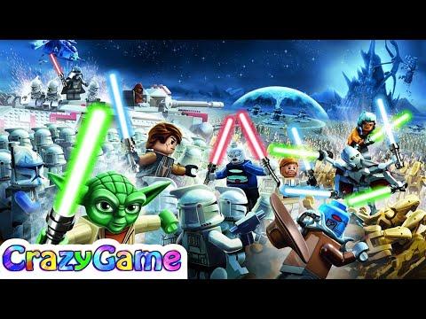 #LEGO Star Wars 3 The Clone Wars Full Episodes - LEGO Game for Children & Kids
