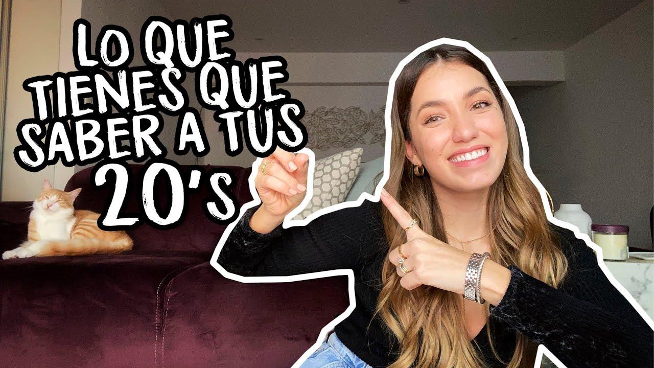 12 COSAS QUE DEBES DEJAR DE HACER EN TUS 20's | Natalia Merino